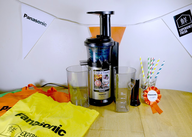 Panasonic - Slow Juicer - Frozen dessert - Healthy dessert - Alcoholic desert -review - contest