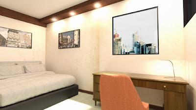 Tesla Hotel Room