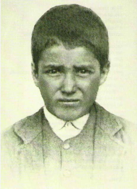 São Francisco Marto, um dos videntes de Fátima