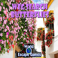 WorldEscapeGames – Search Butterflies