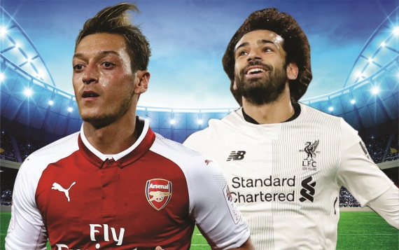 Arsenal and Liverpool meet at the Emirates Stadium on Friday night