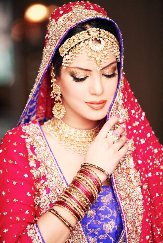 Paki Fashion 2012 Bridel Makeup