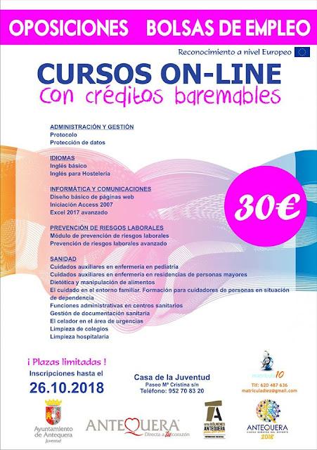 Talleres y Cursos para Jóvenes en Antequera