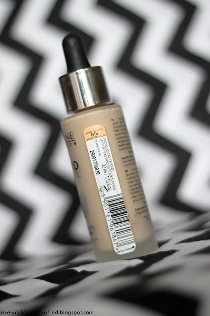 Eveline Liquid Control 015 Light Vanilla