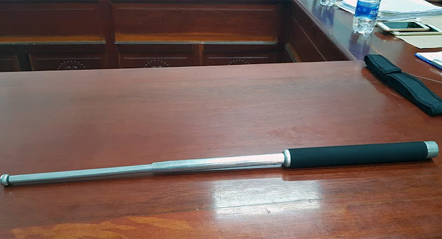 Cây gậy 3 khúc – công cụ hỗ trợ mà ông Việt sử dụng trái phép