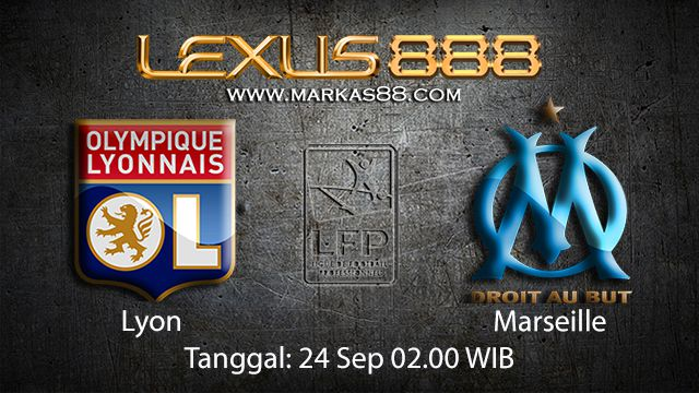 Prediksi Bola Jitu Lyon vs Marseille 24 September 2018 ( French Ligue 1 )