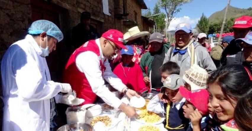 QALI WARMA: Programa social presenta comida nutritiva y saludable a población quechua de Lambayeque - www.qaliwarma.gob.pe