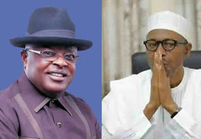 Image result for Umahi and Buhari