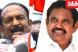 Vaiko slams EPS Government on Tasmac Issue