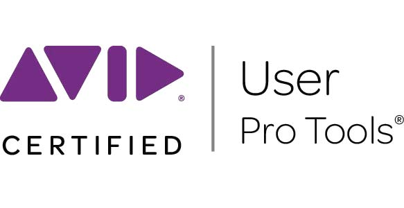 Avid Certified User for Pro Tools