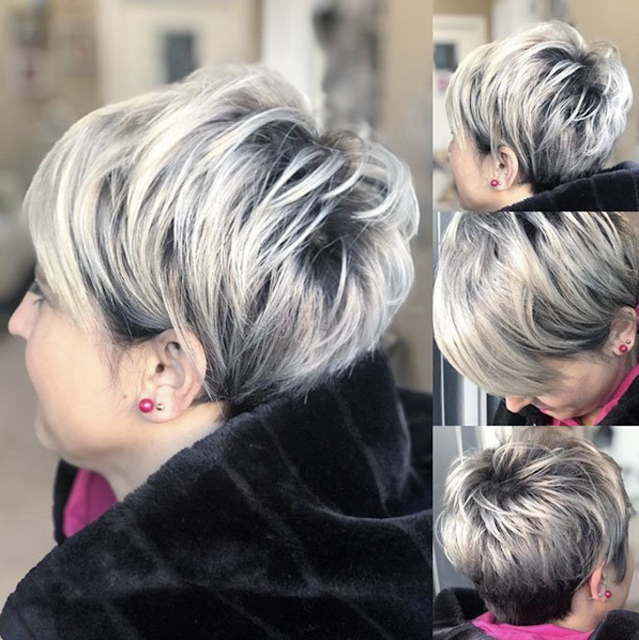 pixie bob haircut short older women