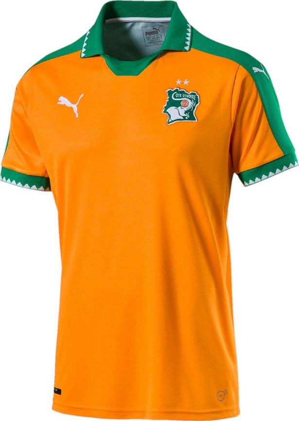 2ae161e682 Puma divulga nova camisa titular da Costa do Marfim - Show de Camisas
