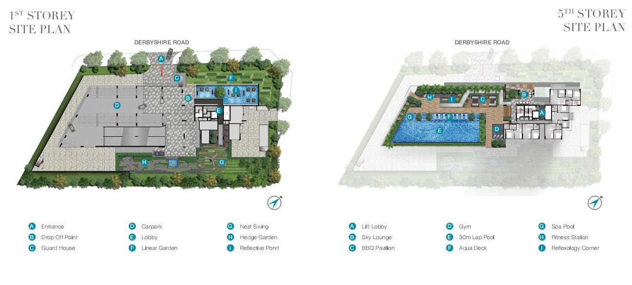 6 Derbyshire Site Plan