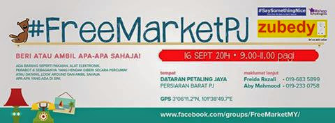 Jom Ke FreeMarketPJ 16.09.2014