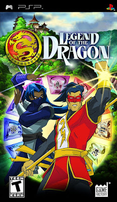 Legend of the Dragon cover