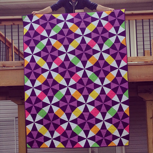 Kaleidoscope Quilt Free Pattern