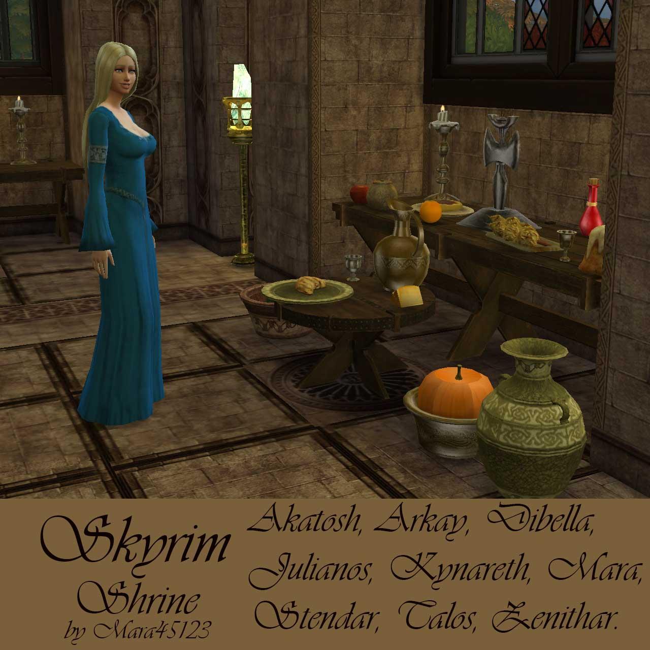 my sims 4 blog skyrim decor by mara45123