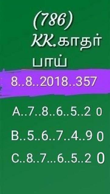 kerala lottery abc all board guessing akshaya AK-357 on 08.08.2018 by KK