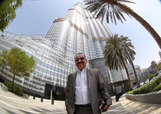 Business man who owns 22 apartments in the world's tallest building Burj Khalifa wants to buy more