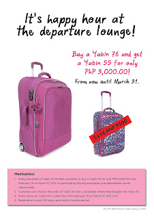 Lighten Up Your Luggage With Kipling Yubin 55