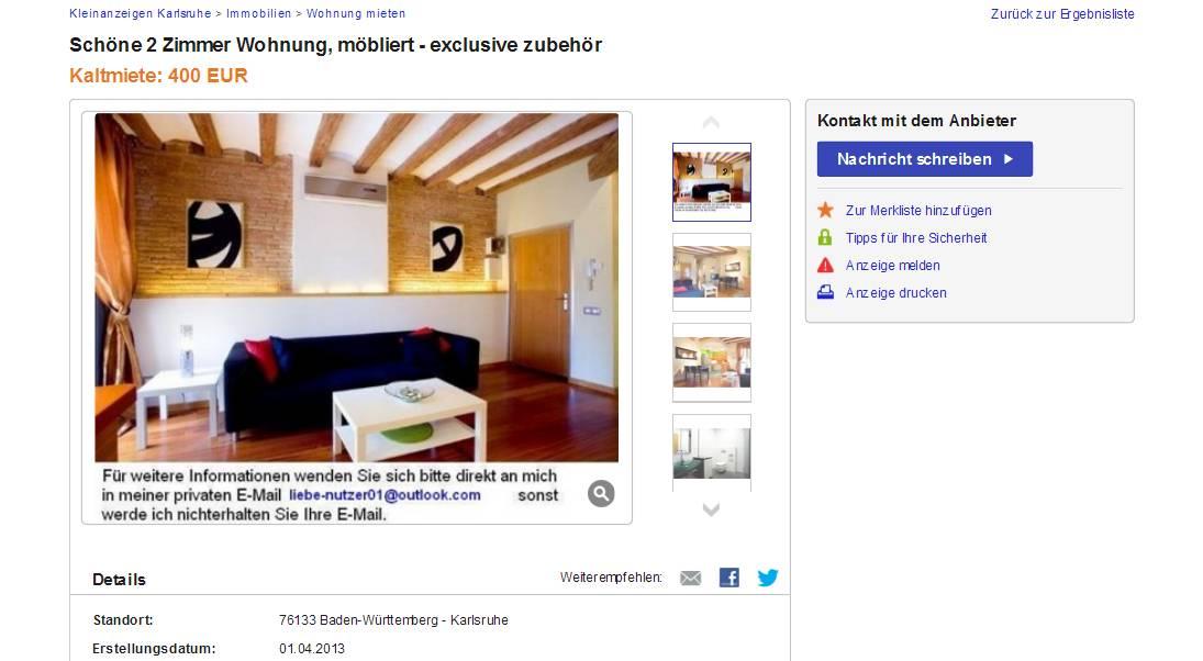 Wohnung Ulm Ebay