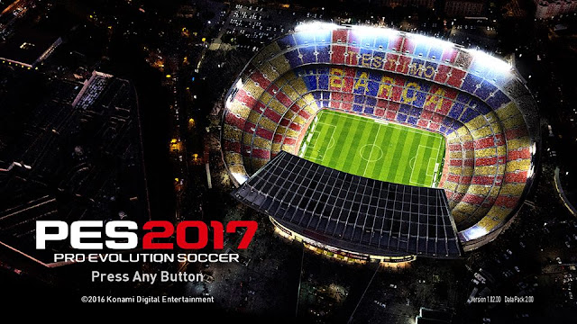 PES 2017 Crack CPY Version 1.02 Data Pack 2.0