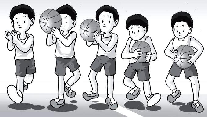 Teknik Dasar Menangkap Bola Basket Yang Baik Dan Benar Penjasorkes