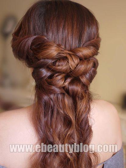 Ancient Greek Hair Down