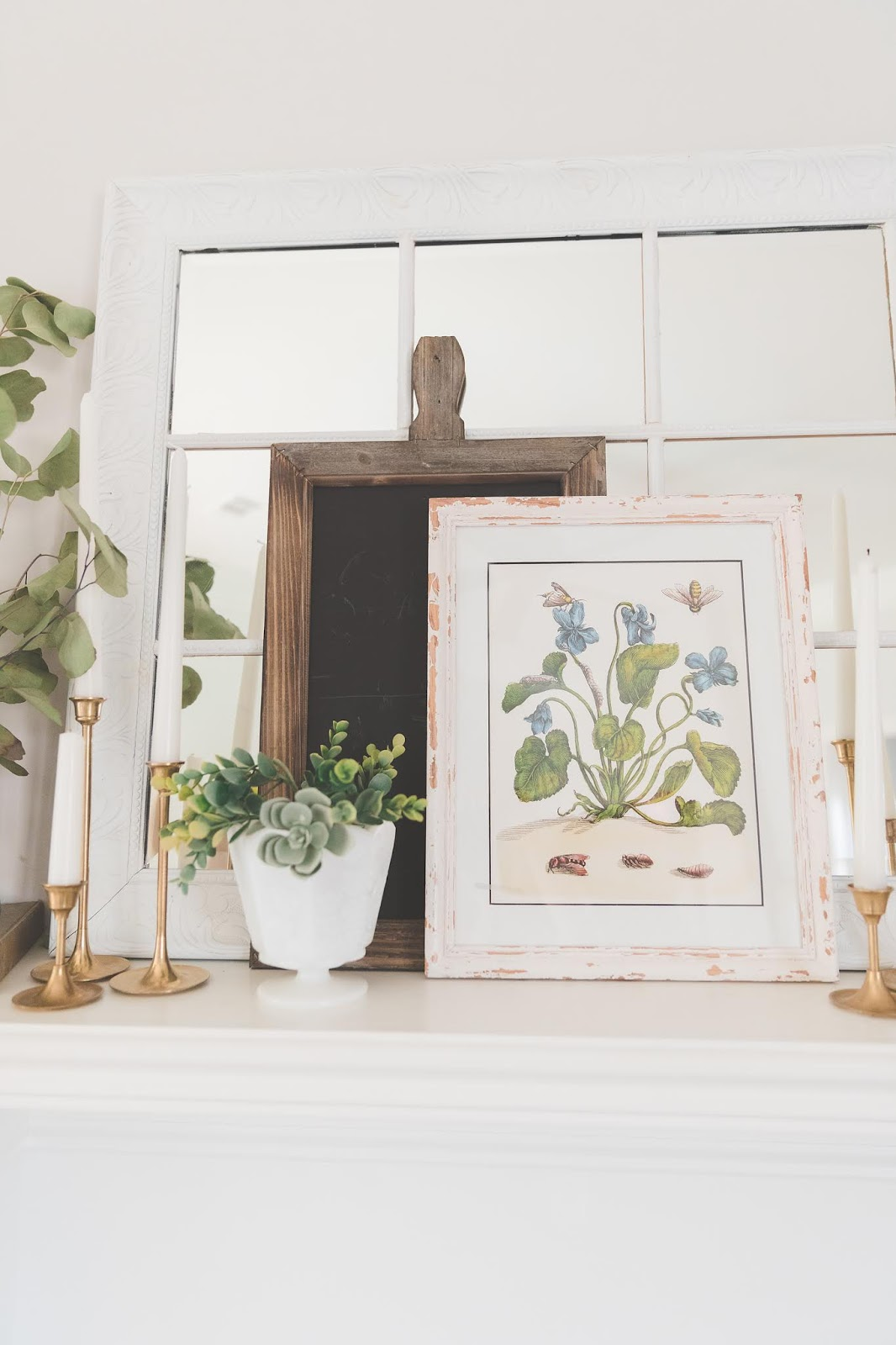 botanical_Spring_mantle_decor
