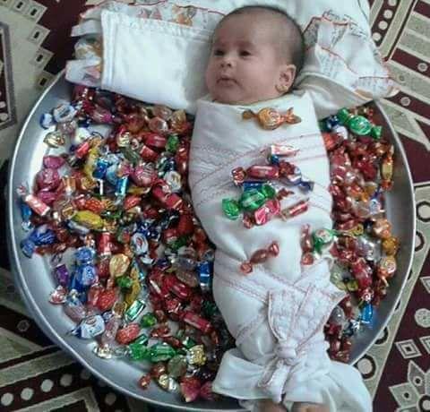 ما يقال عند المولودة الجديدة