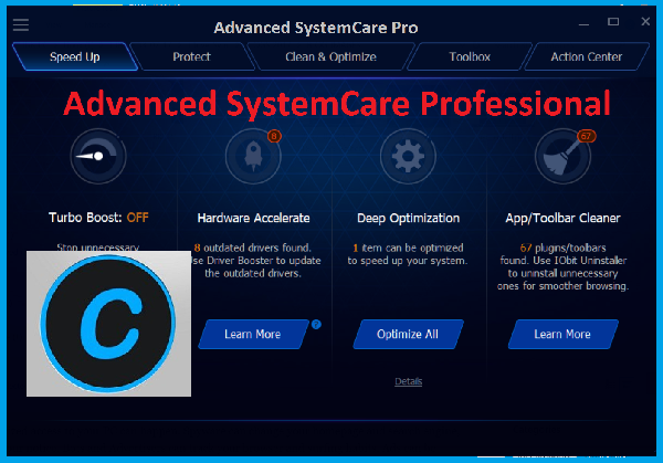 advanced systemcare 9.4 license key 2018