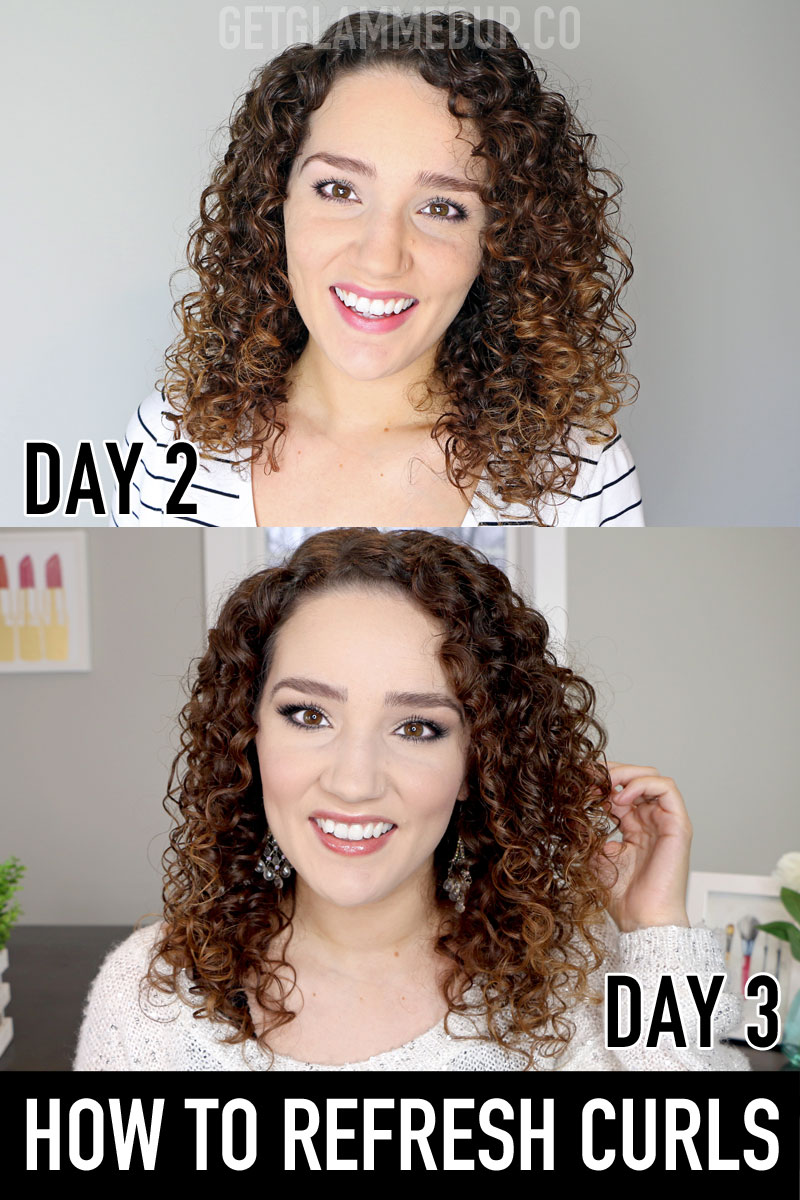 How to Refresh Curly Hair for Beginners