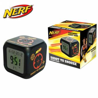 Urban Taggers Nerf Shoot To Snooze Alarm Clock