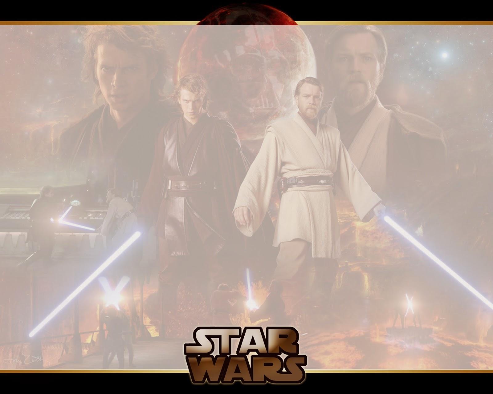 Para hacer invitaciones, tarjetas, marcos de fotos o etiquetas, para imprimir gratis de Star Wars.