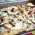 Naleśniki zapiekane z kurczakiem, gorgonzolą i kurkami