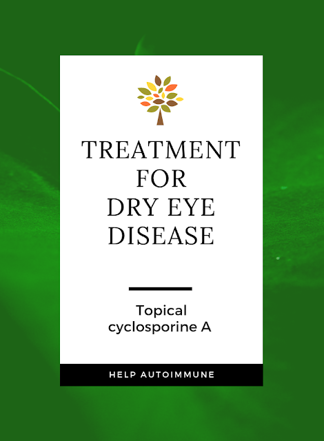 treatment of dry eye disease