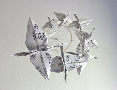 allerhand wundermurmeliges ohhhh origami. Black Bedroom Furniture Sets. Home Design Ideas