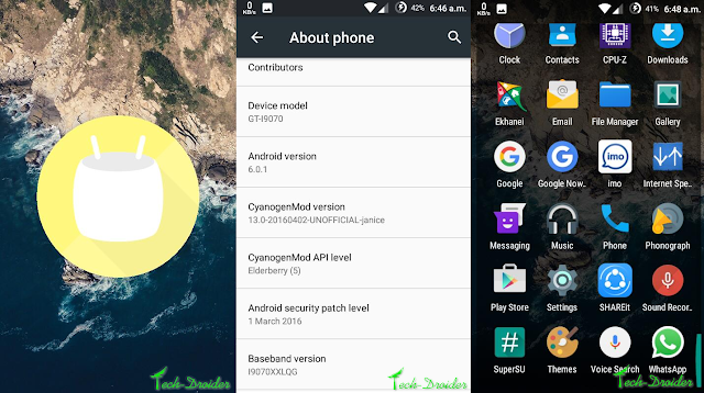 How to Install Android 6.0.1 Marshmallow on Samsung Galaxy S advance I9070