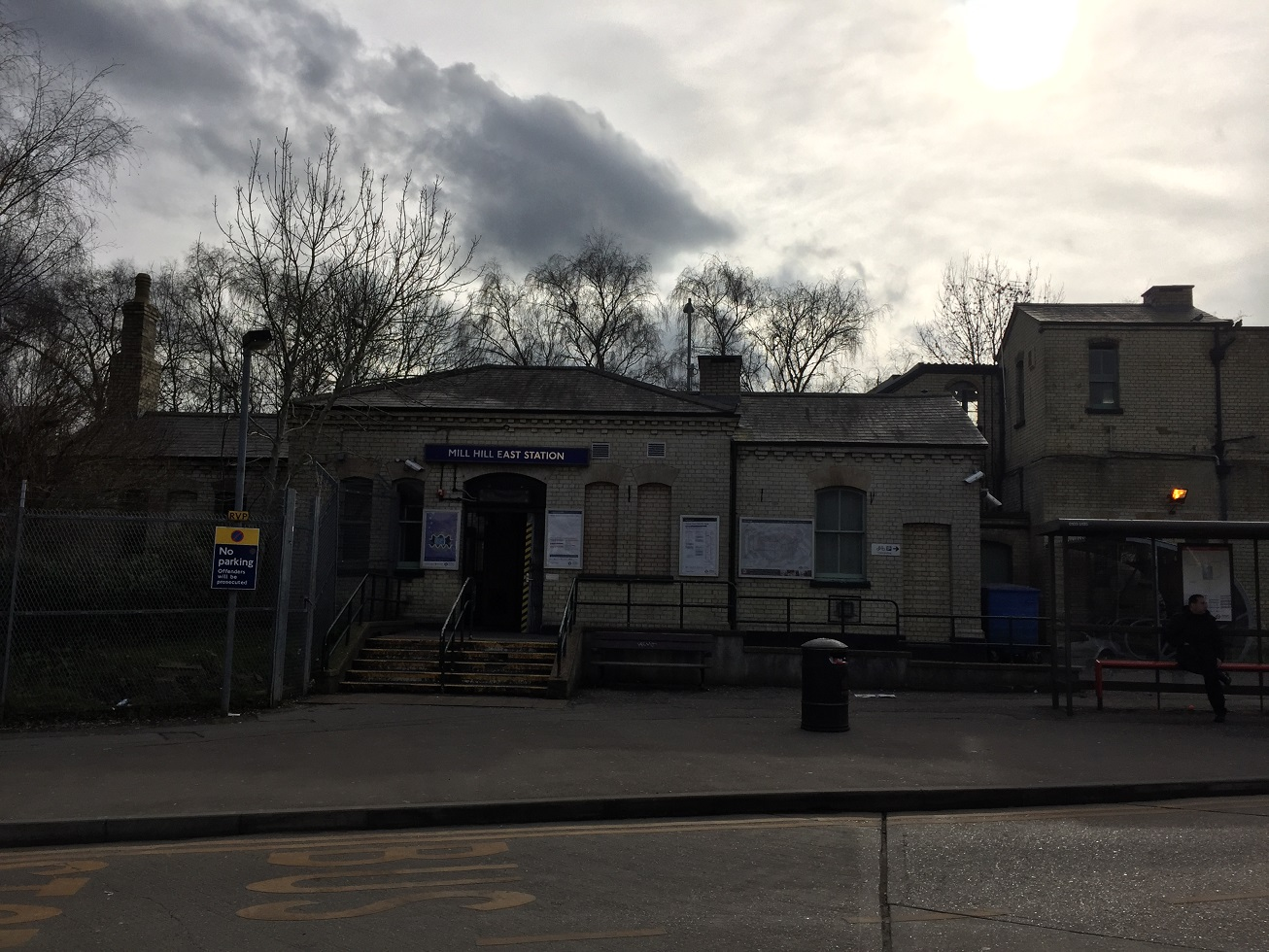 Mill Hill East station, London N7