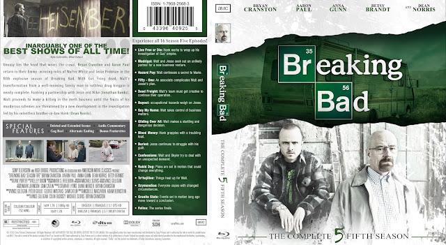 Breaking Bad Season 5 Bluray Cover