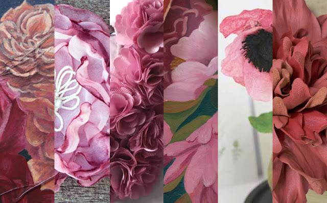 Les fleurs roses Après Fantin-Latour