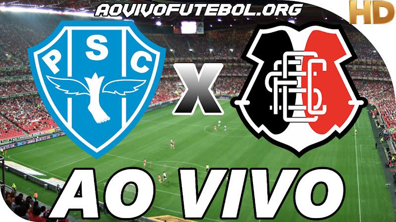 Assistir Paysandu vs Santa Cruz Ao Vivo HD