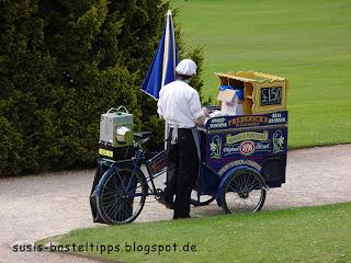 Eisverkäufer im Chatsworth Park: Foto von unabh. Stampin' Up! Demonstratorin in Coburg