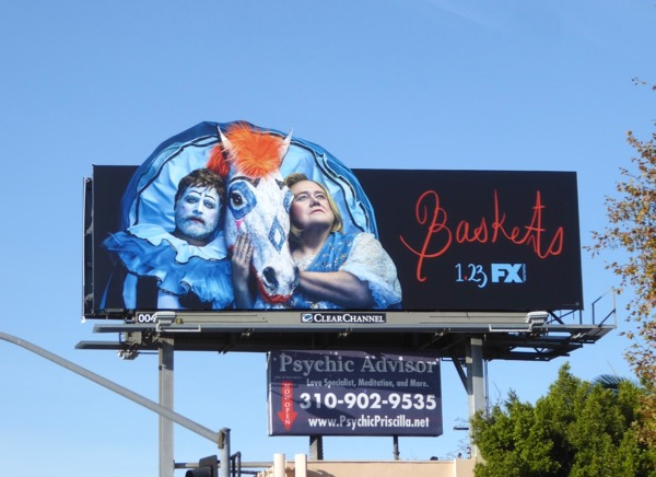 Baskets season 3 billboard