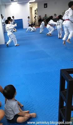 Baby in Taekwondo