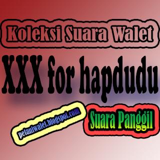 Suara Panggil Walet XXX for Hapdudu
