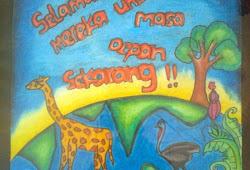 Gambar Poster Tentang Pelestarian Hewan Dan Tumbuhan
