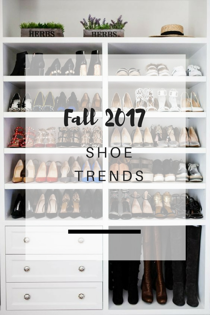 5 Favorite shoe trends for Fall 2017 | Ioanna's Notebook