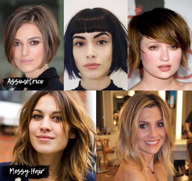 Cortes de cabelo feminino 2017