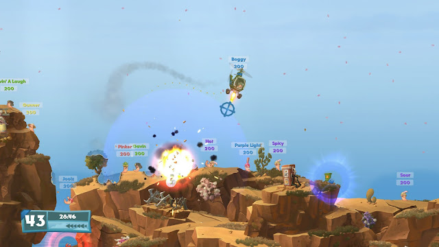 Worms W.M.D Brimstone PC Full imagenes